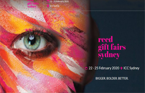 Kukoka kweREDED GIFT FAIRS SYDNEY