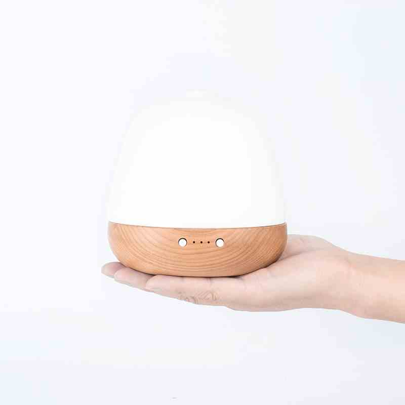 SP-G08 180ml bamboo glass popular acorn shape aroma diffuser