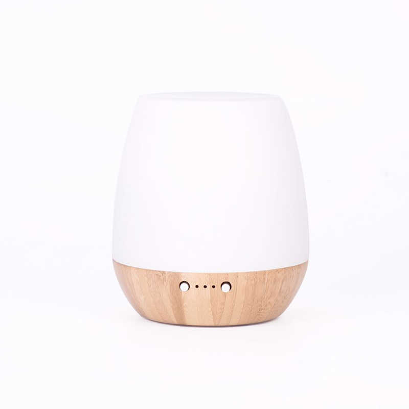 SP-G10 180ml Bamboo Glass Ultrasonic Aromatherapy Diffuser