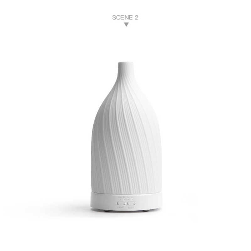 SP-G76 120ml Aromatherapy Essential Oil Handmade Ceramic Diffuser