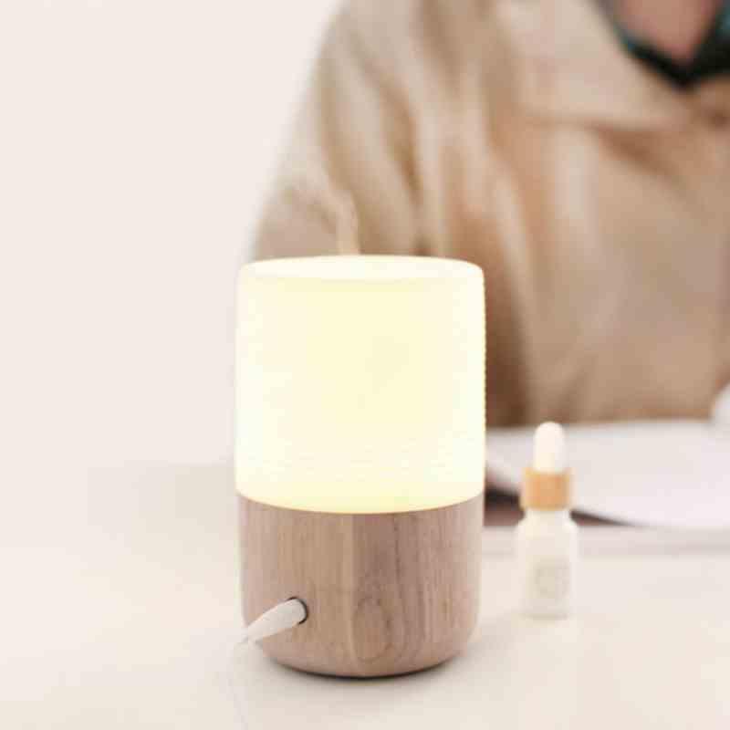 SP-E001 30ml wood ceramic nebulizer waterless essential oil diffuser