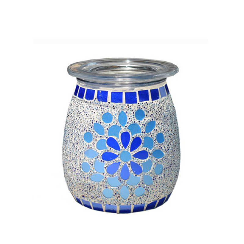 SP-WBL07-S glass electric scented wax tart warmer oil burner