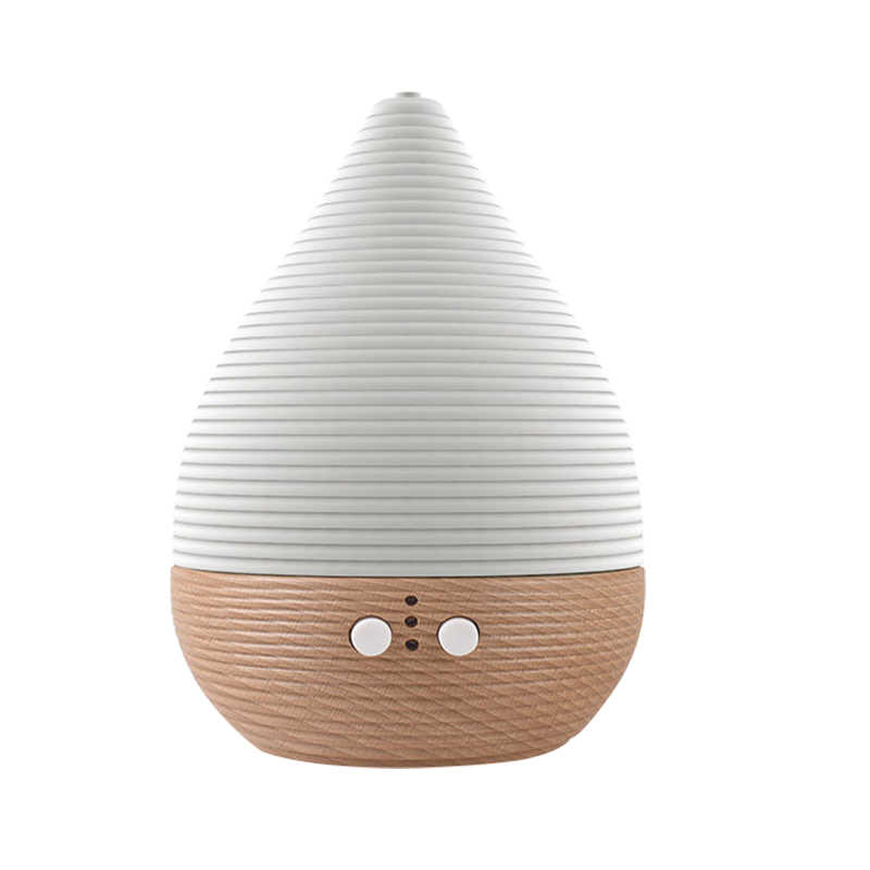SP-G09 200ml Beech Solid Wood Aromatherapy Essential Oil Diffuser