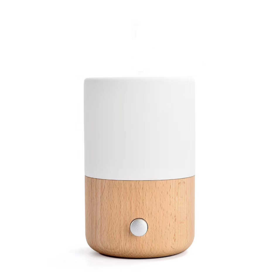 SP-E001 30ml wood ceramic nebulizer waterless essential oil diffuser
