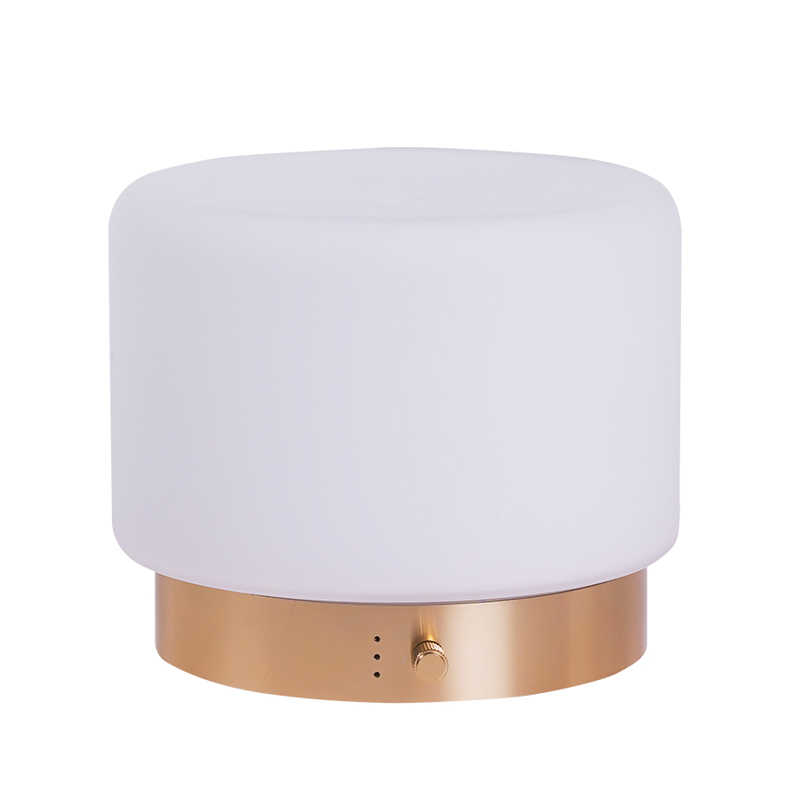 SP-G16 280ml aluminium glass cool mist ultrasonic aroma diffuser with rotating control light