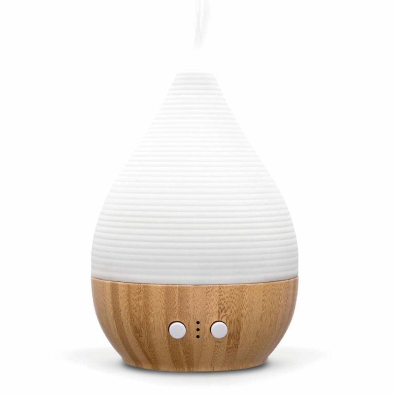SP-G09 SOICARE 200ml ceramic bamboo Aromatherapy Essential Oil Diffuser