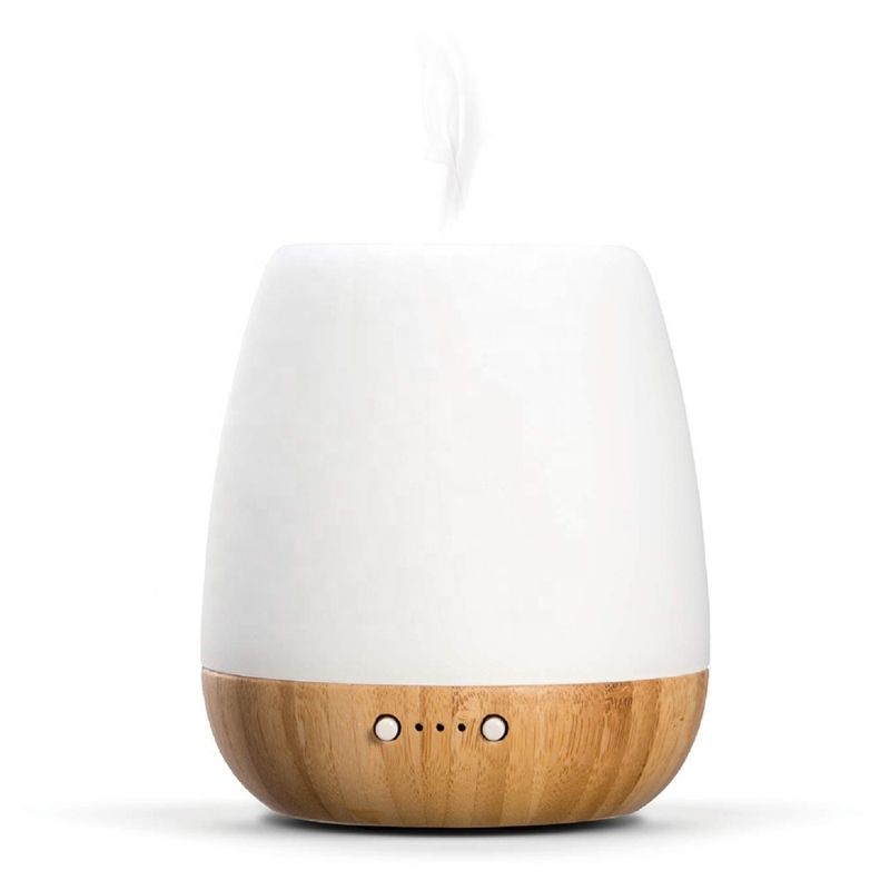 SP-G10 180ml Rubber Wood Glass Ultrasonic Aromatherapy essential oil Diffuser
