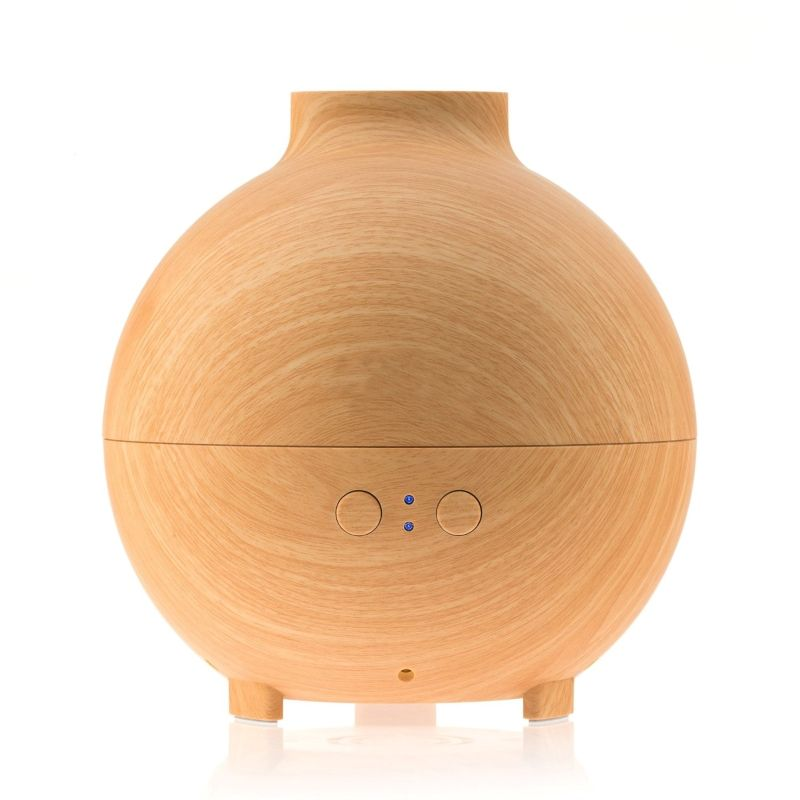 SP-L06 SOICARE 600ML UFO woodgrain ultrasonic aromatherapy essential oil diffuser