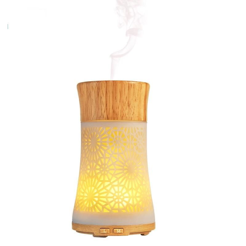 SP-G63 120ml Hollow-Carved Craft Aromatherapy Diffuser