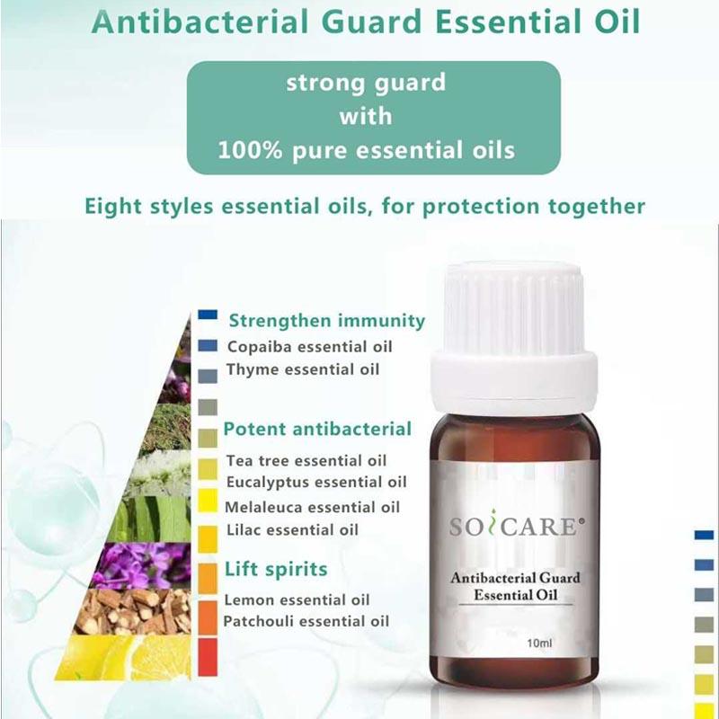 Afangaro menaka esensial Antibacterial Guard huile essentielle ho an'ny Diffuser